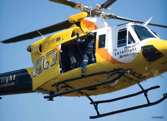 Snake bite airlift becomes CareFlight 1,000th mission