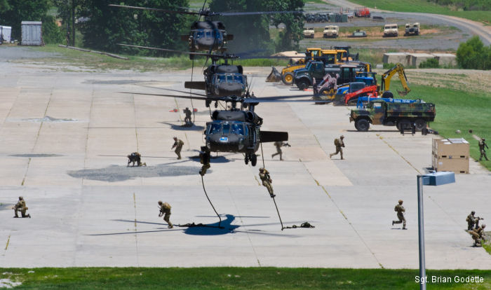 The training exercise involved North Carolina Air and Army National Guard, South Carolina Army National Guard, Alabama Army National Guard and active-duty Airmen and Soldiers.