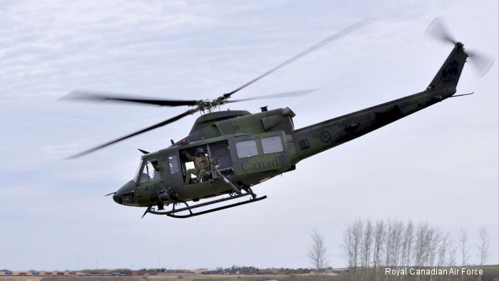 CAE has been awarded a contract to perform a major visual system replacement and simulator update for the CH-146 Griffon helicopter at 
