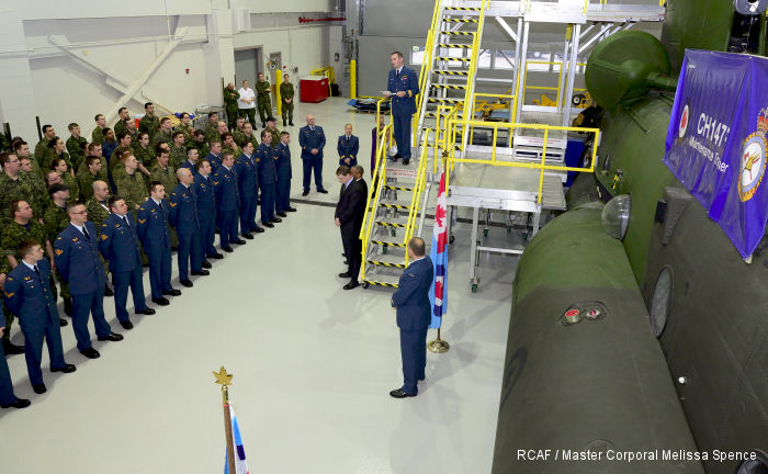 Canadian 450 Tactical Helicopter Squadron marked a major milestone last month with the opening of its Fleet Technical Training Flight (FTTF) and the flight's technical training facility