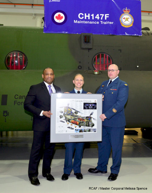 Canadian technical training facility for CH-147F Chinook technicians opens