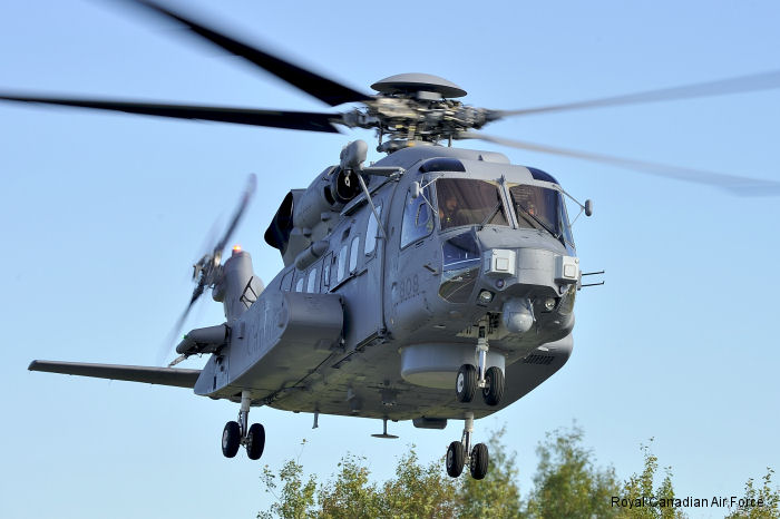 The Royal Canadian Air Force (RCAF) is a major step closer to operating a new world-class maritime helicopter fleet with the official acceptance of six CH-148 Cyclones on June 19, 2015.