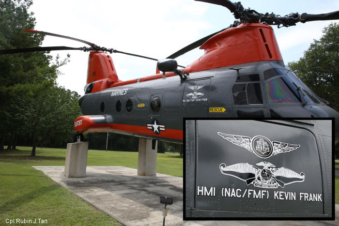 The story behind MCAS Beaufort s lone helicopter