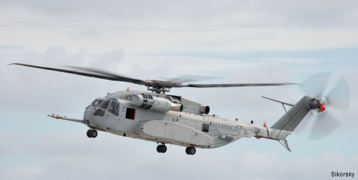 Lt Col Jonathan Morel became the first U.S. Marine to fly the new CH-53K helicopter at Sikorsky s Development Flight Center in West Palm Beach, Florida.