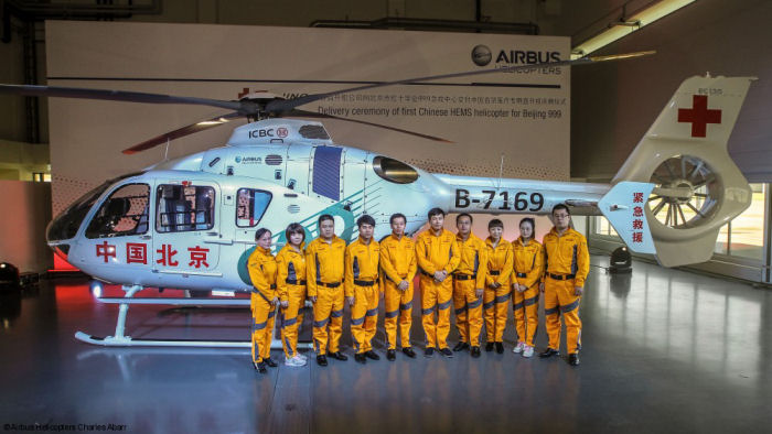 Airbus Helicopters H130, H135 and H155 to be showcased at the China Helicopter Exposition 2015 (CHE 2015), Tianjin, Sept. 9-13