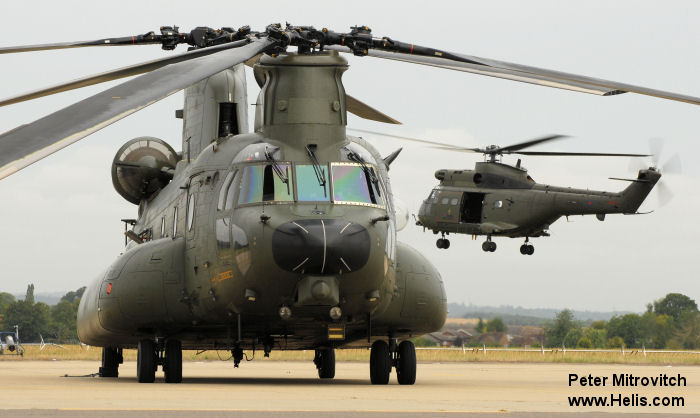 Royal Air Force Chinook helicopters and around 150 personnel moved to RAF Benson as the Chinook Mk4/6 Operational Conversion Flight joined their Puma HC.2 colleagues.