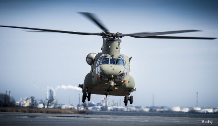 Boeing has delivered its 14th Mk6 (CH-47F) Chinook completing Royal Air Force's order and growing the fleet to 60 aircraft. The order completion coincided with the 35th anniversary of UK Chinooks