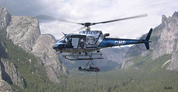 California Highway Patrol (CHP) has chosen the Becker DVCS6100 Digital Audio system and Polycon wireless communication system for their new AS350 B3 helicopters