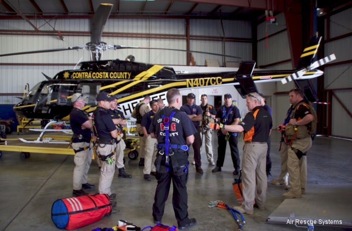 Contra Costa County Sheriff Office Short Haul Rescue Training
