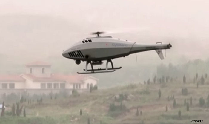 CybAero, which develops and manufactures remotely piloted helicopter systems, conducted demonstration flights in Hainan, China with its client AVIC.