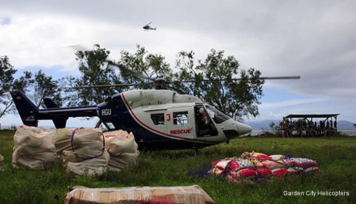 The Airbus Helicopters Foundation Provides Aid In Vanuatu Following Tropical Cyclone Pam
