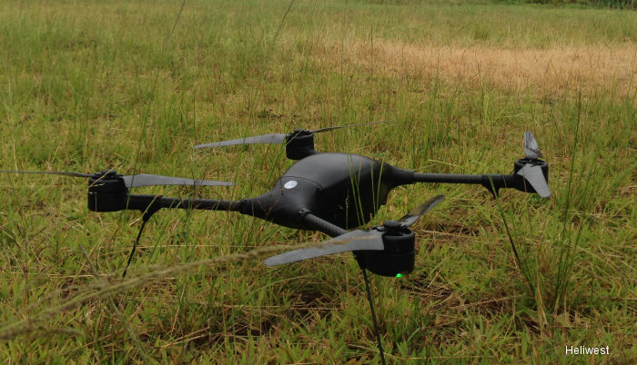 Heliwest Operates Lockheed Martin Indago Small Unmanned Quad Copter in Cyclone Pam Disaster Relief Efforts