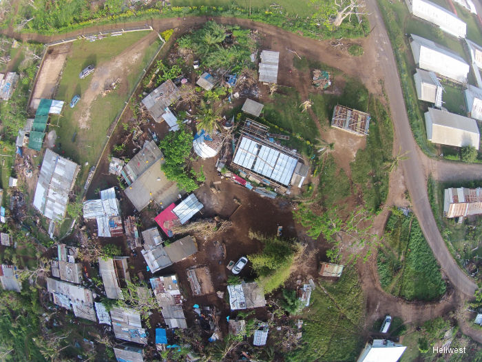 Indago UAV Used in Cyclone Pam Disaster Relief Efforts