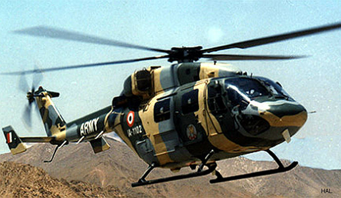 Saab received USD 78M orders from HAL for integrated electronic warfare self-protection system in Indian Army's and Air Force's Advanced Light Helicopter Dhruv
