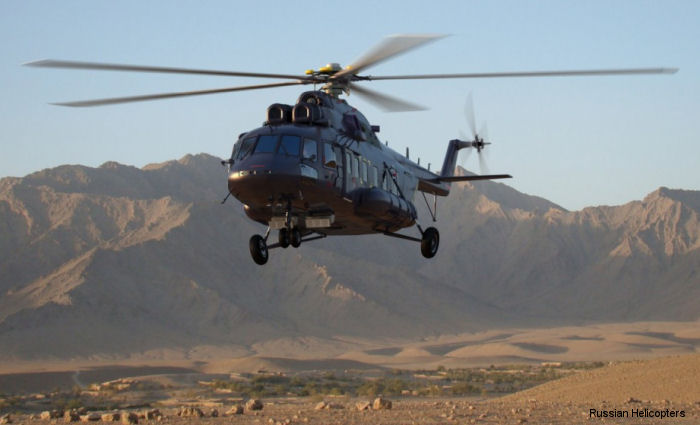 Russian Helicopters will showcase the multirole <a href=/database/model/1370/>Mi-171A2</a> alongside the light multirole <a href=/database/model/1301/>Ansat</a> in VIP configuration and the firefighting version of the <a href=/database/model/347/>Ka-32A11BC</a> at Dubai Airshow on  November 8-12