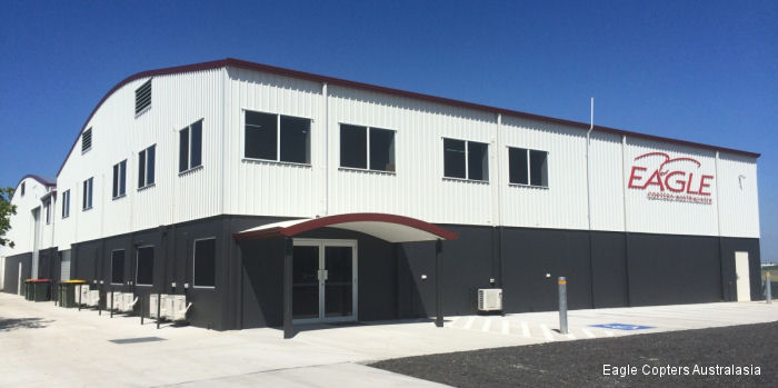 Eagle Copters Australia set to open its new state-of-the-art maintenance and support facility