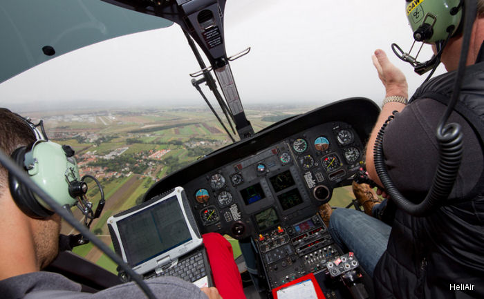 Aviation Specialties Unlimited (ASU) along with Austria based HeliAir obtained EASA STC approval to modify existing aircraft cockpits for night vision compatibility on EC135 series.