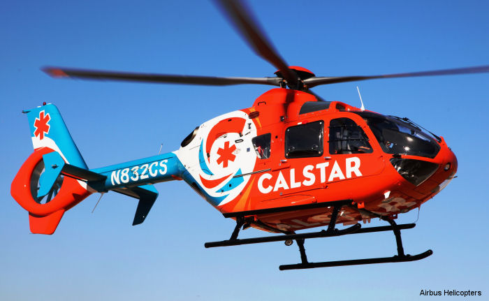 CALSTAR is first U.S. air medical transport service to place order for Airbus Helicopters high performance H135