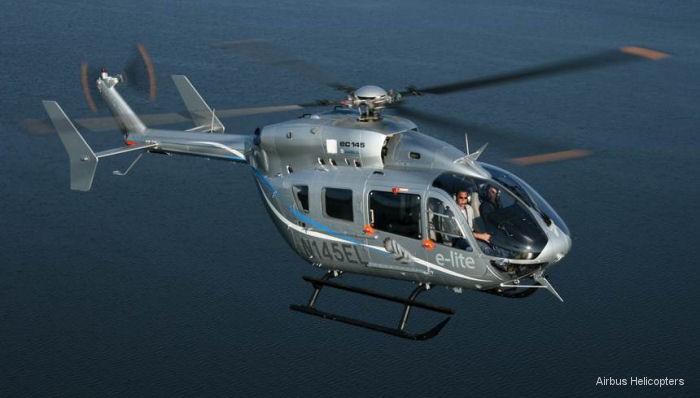 Metro Aviation of Shreveport, La. ordered six EC145e from Airbus Helicopters Inc (USA) becoming the first North American customer for this new lighter weight and lower cost version of the EC145