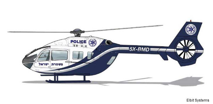 Israeli Police awarded Elbit Systems US$115 million contract to supply leasing and maintenance of six new helicopters over a twenty-year period.