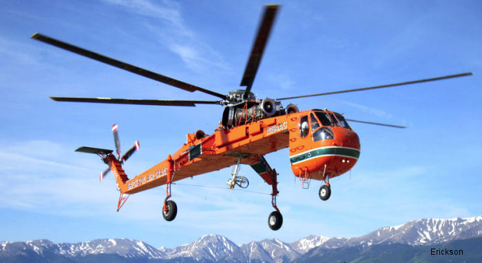 Erickson announced that has renewed key contracts with the US Forest Service as well as with Canadian aerial heavy lift company Helifor Canada, a subsidiary of Columbia Helicopters.