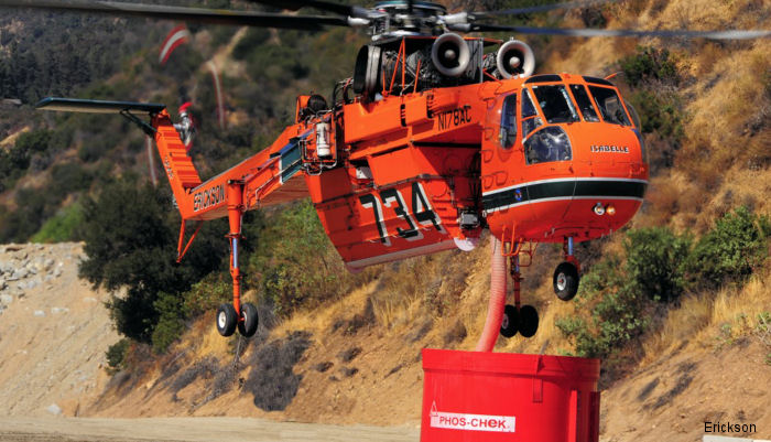 Erickson has been selected by Pan Aviation to provide emergency fire suppression support for the Municipality of Istanbul and the surrounding areas with a S-64E aircrane for 2 years.