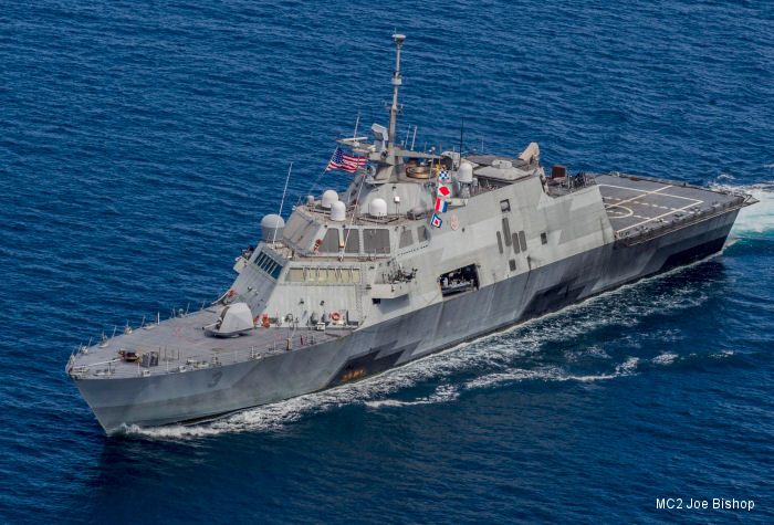 One Year for USS Fort Worth