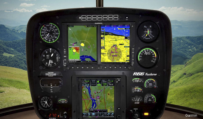 Garmin Introduces Helicopter-Specific ADS-B Solutions with Industry-First Features