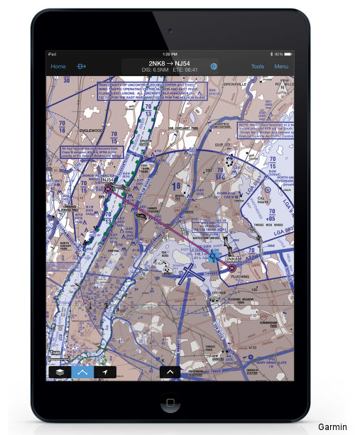 Garmin announce a new version of Garmin Pilot for iOS, which adds a suite of features tailored to helicopter operators