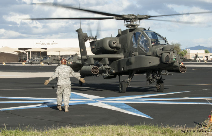 U.S. Army National Guard AH-64D Apaches from 7 states went to Arizona for the Gunfighter Fly-in competition at the Silverbell Army Heliport  November 1-6