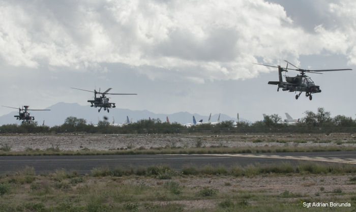 National Guard Gunfighter Fly-in competition unites seven Apache helicopter states