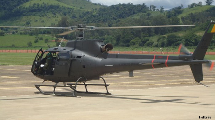 Helibras delivered first 6 of 36 upgraded H125M/AS550 Fennec to the Brazilian Army Aviation in a program scheduled to be completed by 2019.
