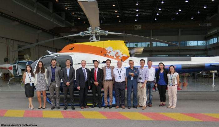 The Kingdom of Bhutan received the first of two H130 to serve parapublic and commercial missions. The second helicopter is expected to be delivered in June 2016.