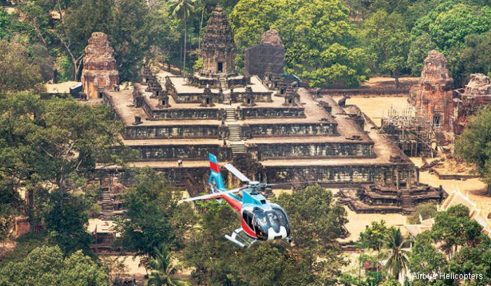 Airbus Helicopters conducted the first demonstration flight of its H130 in Phnom Penh showcasing the capabilities of this light rotorcraft to private and commercial helicopter operators in Cambodia