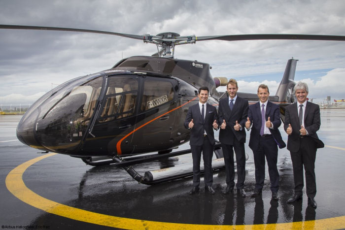 Monacair signed order for six H130 / EC130T2 to set up regular scheduled flights linking Monaco Heliport to Nice International Airport.