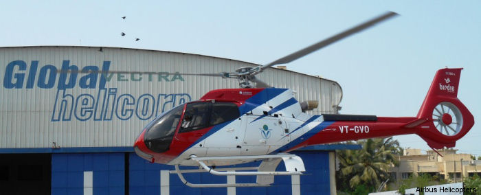 India s Global Vectra Helicorp signed a parts-by-the-hour (PBH) contract for its new H130/EC130T2 light helicopter, benefiting from Airbus Helicopters' redefined customer service offer called HCare.