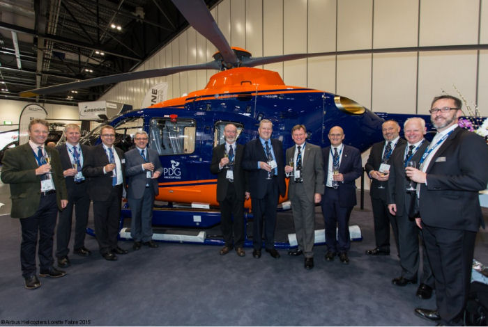 PDG Helicopters Signs for H135