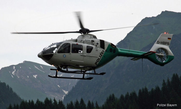 Three of the Bavarian Police's eight helicopters have completed the process with a retrofit package that brings earlier-production rotorcraft to the latest H135 core definition