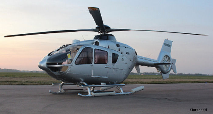 Starspeed and Nova Systems join up to put an Airbus H135 to work