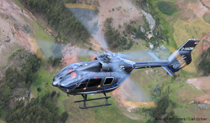 The H145 (former EC145T2) was in Bolivia and Peru last week on the second leg of its South American demo tour completing high and hot tests above mountains