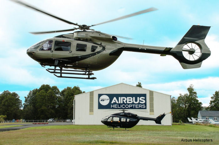 Advanced Flight Ltd of New Zealand received the first EC145T2 / H145 in the Australia Pacific Region