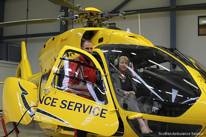 Scottish Ambulance Service is replacing their current EC135 helicopters which have been in service since 2006 with two new H145/EC145T2. Bond Air Services operate the helicopters on Gama's behalf.