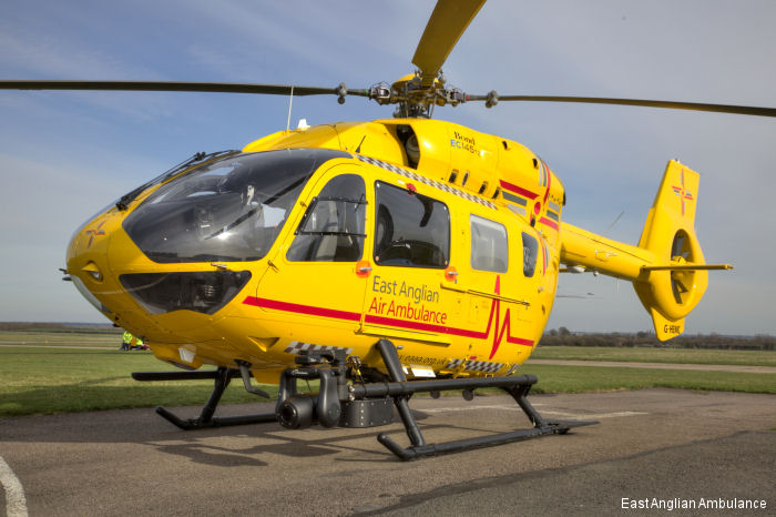 Yorkshire Air Ambulances (YAA) signed for a new H145 helicopter to replace its 16-year-old MD902 Explorer G-SASH. This is the fifth H145/EC145T2  ordered by UK ambulances operators.