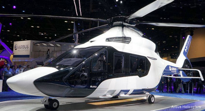 Airbus Helicopters presented its all-new H160, raising the standards for performance, cost effectiveness, passenger comfort and environmental impact to create the medium-class rotorcraft benchmark.
