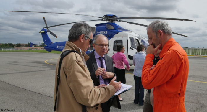 A quiet approach: Airbus Helicopters demonstrates low-noise IFR operations at airport with commercial traffic