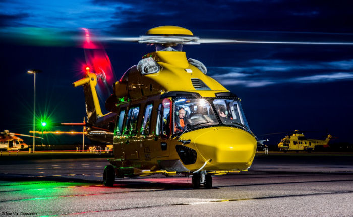 Launch operator NHV from Belgium accumulated 1000 flight hours with  two H175s introduced into service last December. They are used to transport crews and supplies to off-shore oil and gas platforms.
