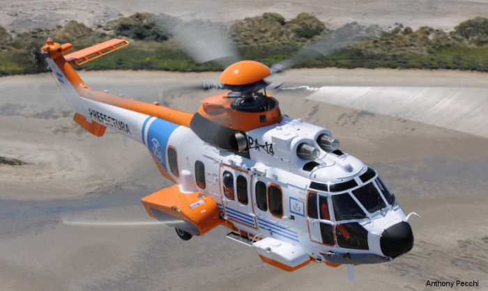 Argentine Coast Guard ( Prefectura Naval Argentina ) received its first H225 helicopter, which will be based in Mar del Plata, marking the start of the renewal process of the SA330 Puma fleet