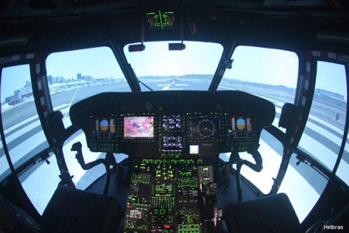 Helibras H225 helicopter Full Flight Simulator received certification from the National Civil Aviation Agency (ANAC) for courses and training to the offshore market operators.