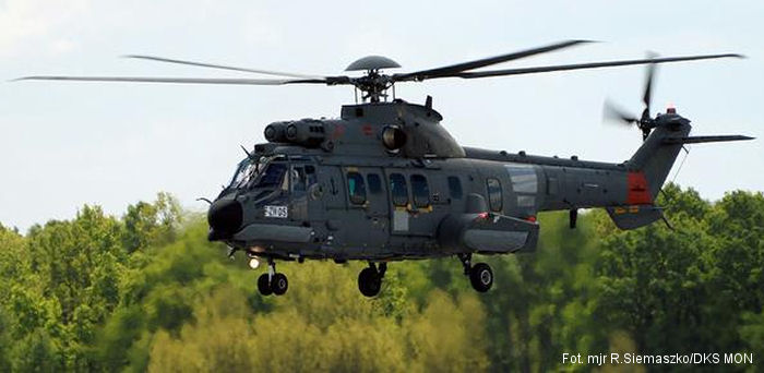 H225M Caracal Successfully Passed Polish Army Tests