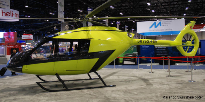 Marenco Swisshelicopter celebrates 13x additional orders signed at the Heli-Expo 2015